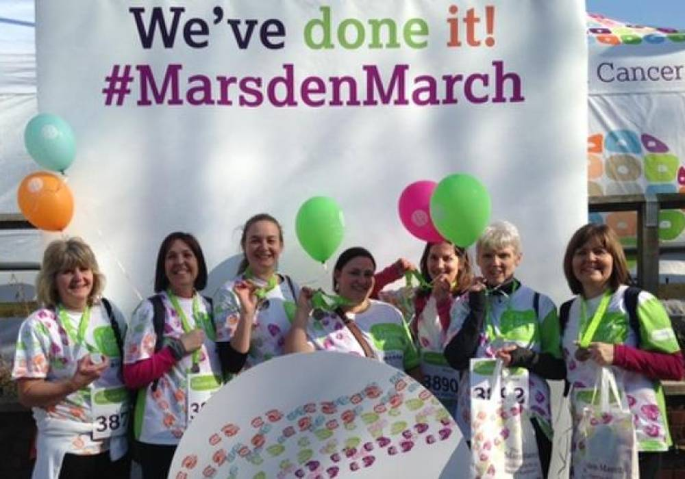 #MarsdenMarch Charity Walk